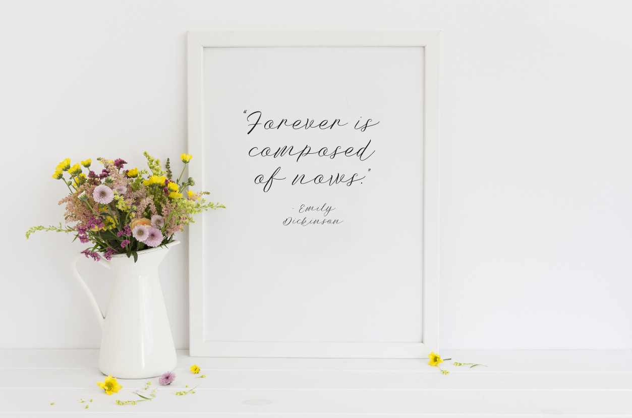mindfulness print quote