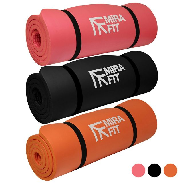 Mirafit 15mm Extra Thick Exercise Floor Mat - Choice of Colours