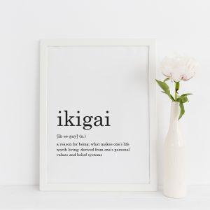 ikigai print