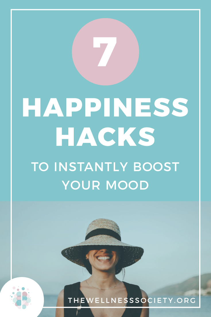 7 Happiness Hacks to Instantly Boost Your Mood