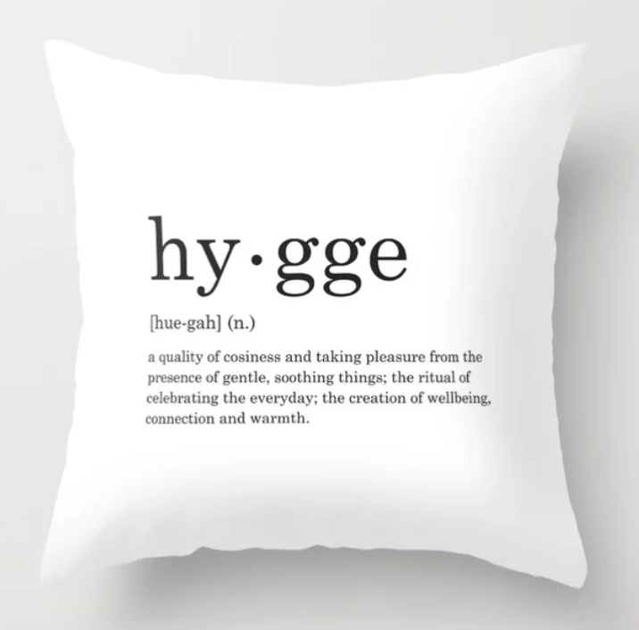 hygge pillow