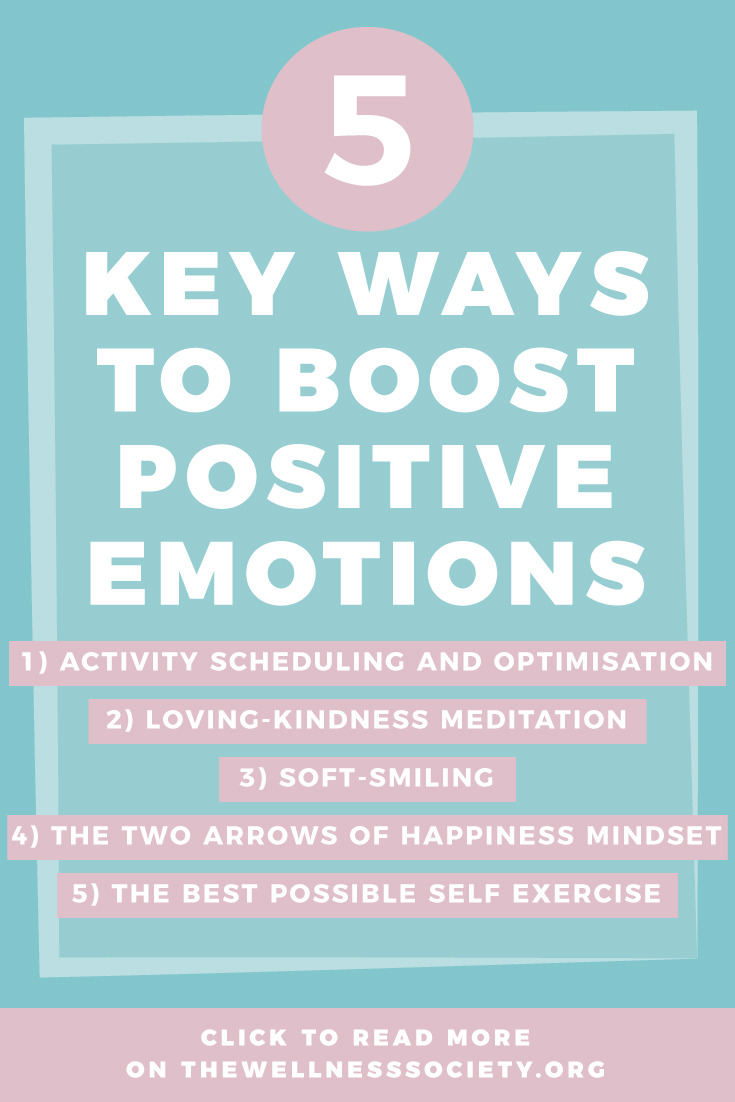 How to Boost Positive Emotions