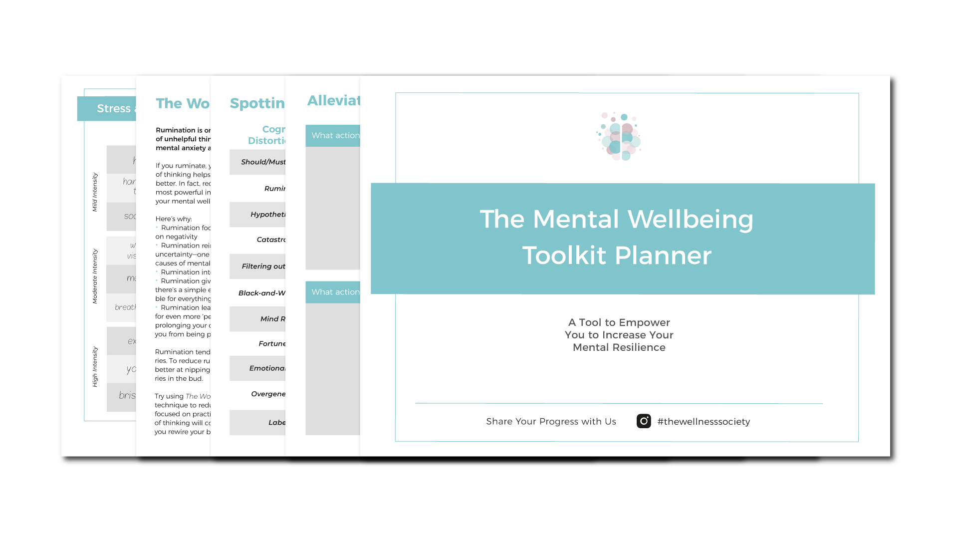 The Mental Wellbeing Toolkit Planner