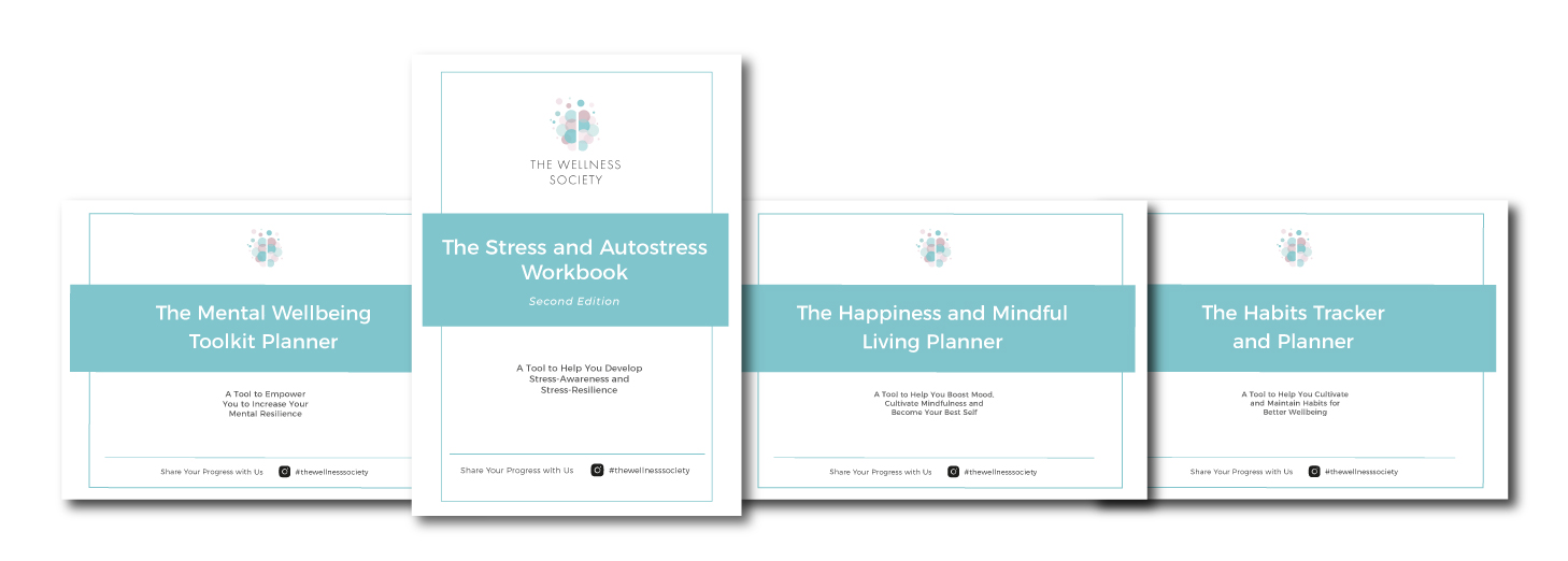 Self-Help Workbooks Package