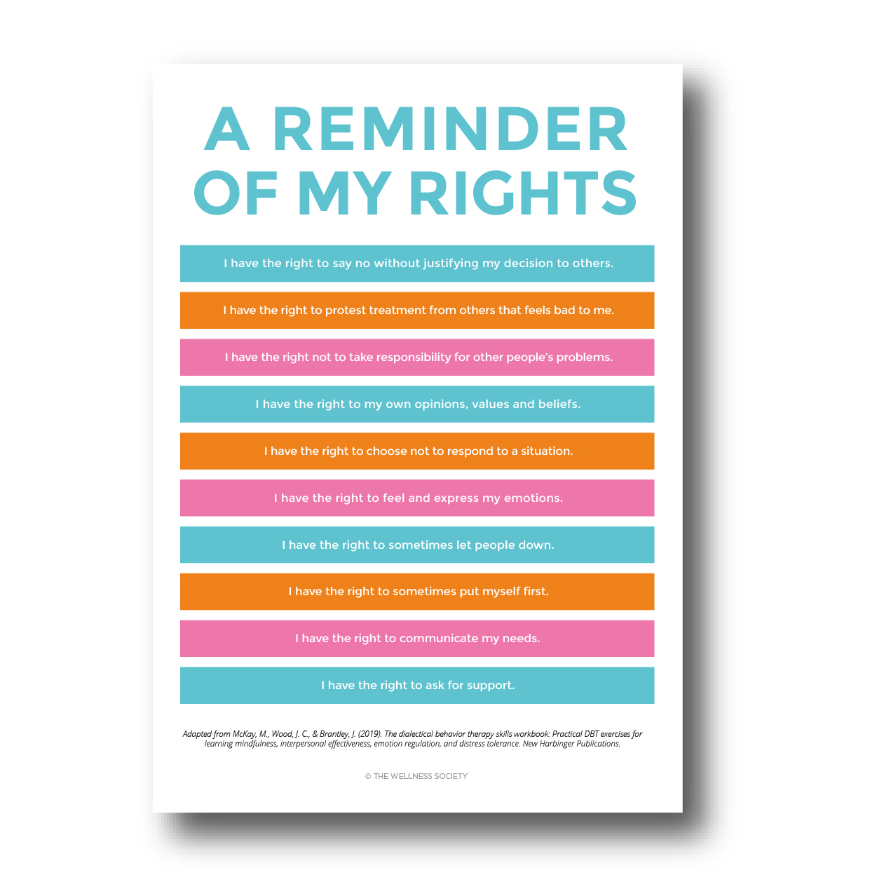 my rights poster