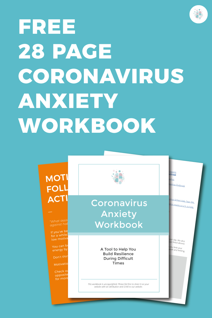 Coronavirus Anxiety Workbook | The Wellness Society | Self ...