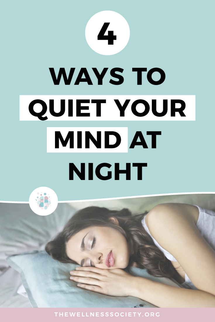 how to quiet your mind