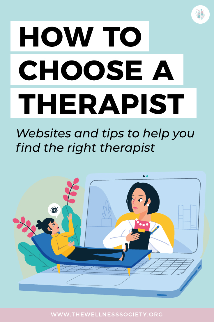 how to choose a therapist