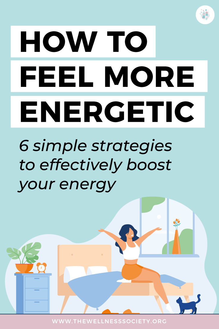 how to feel more energetic