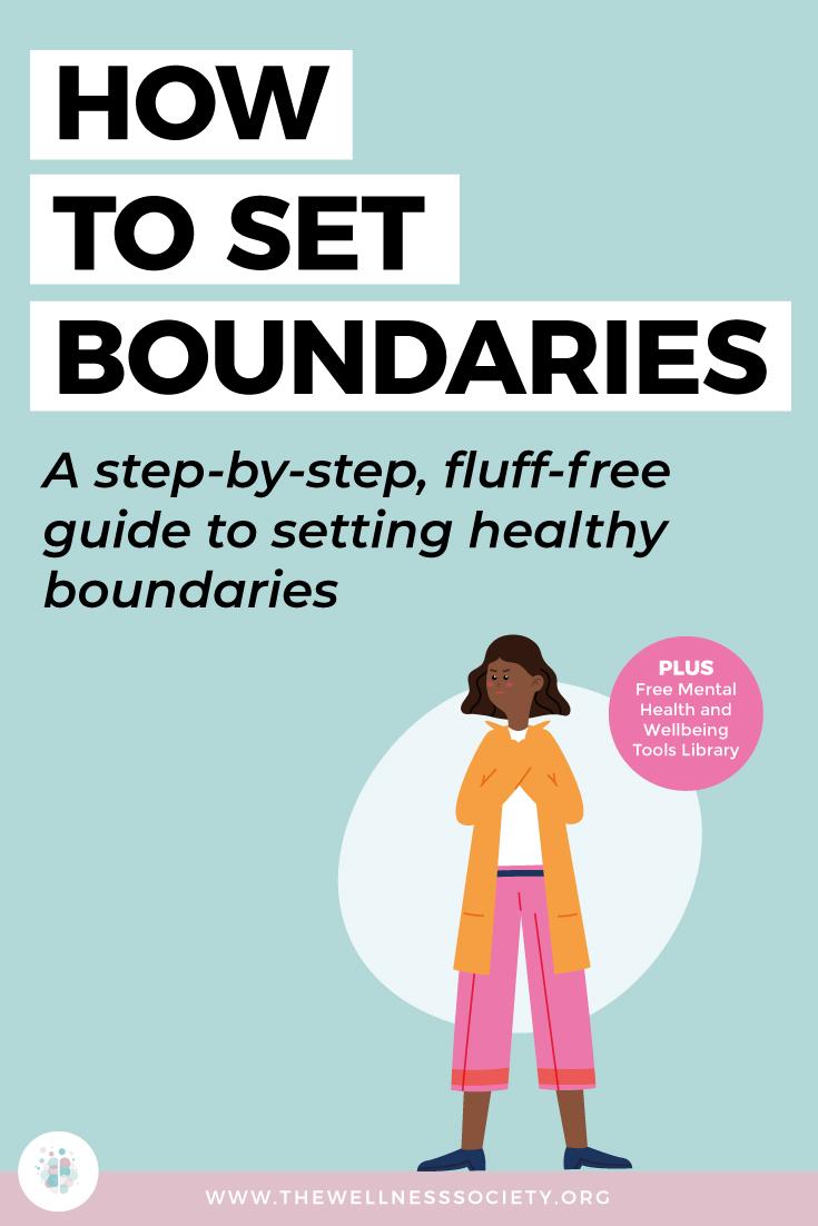how to set boundaries