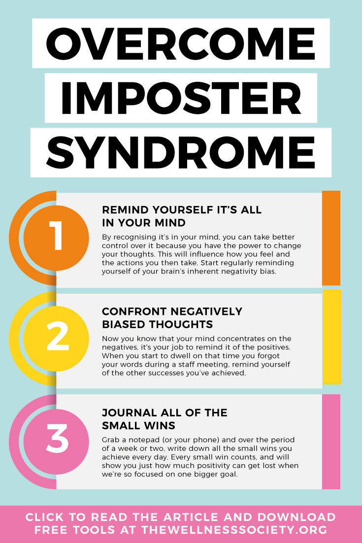 how to overcome imposter syndrome