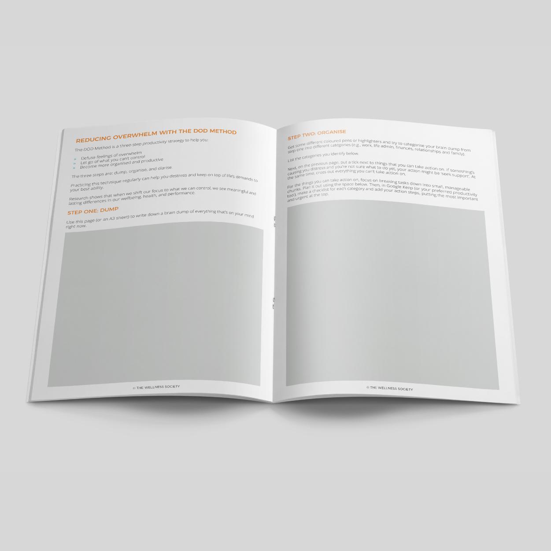 stress management sheets
