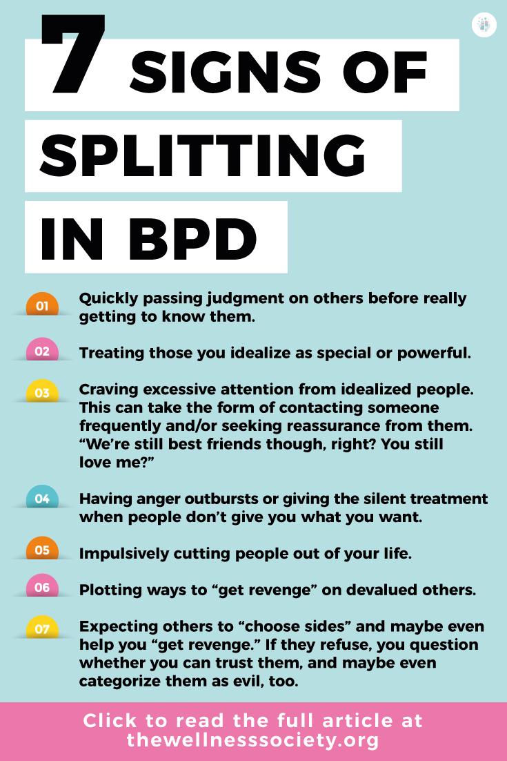 bpd splitting